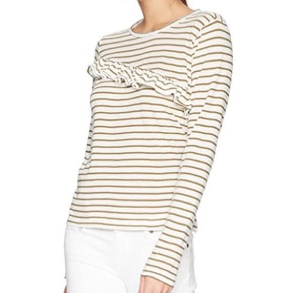 Lucky Brand Tops - Lucky Brand Ruffle Lightweight Sweater